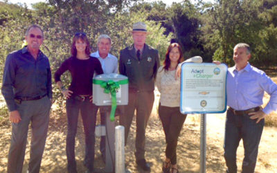 Chevrolet Electrifies Malibu Creek and Leo Carrillo California State Parks with Free Electric Vehicle Chargers from Adopt a Charger
