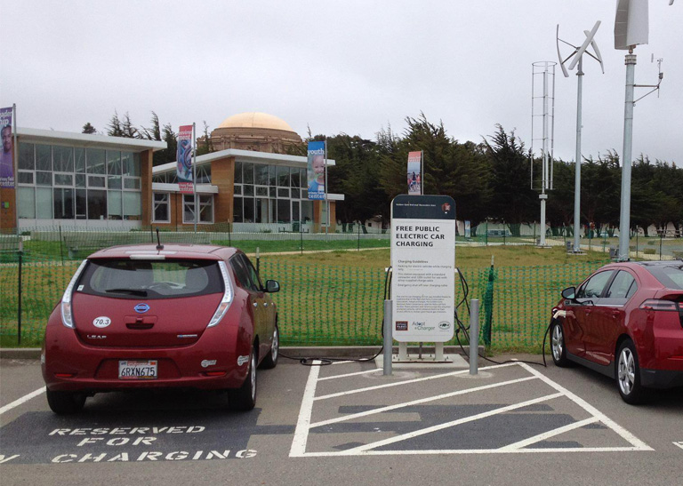 A viable business model for free electric car charging – possible?