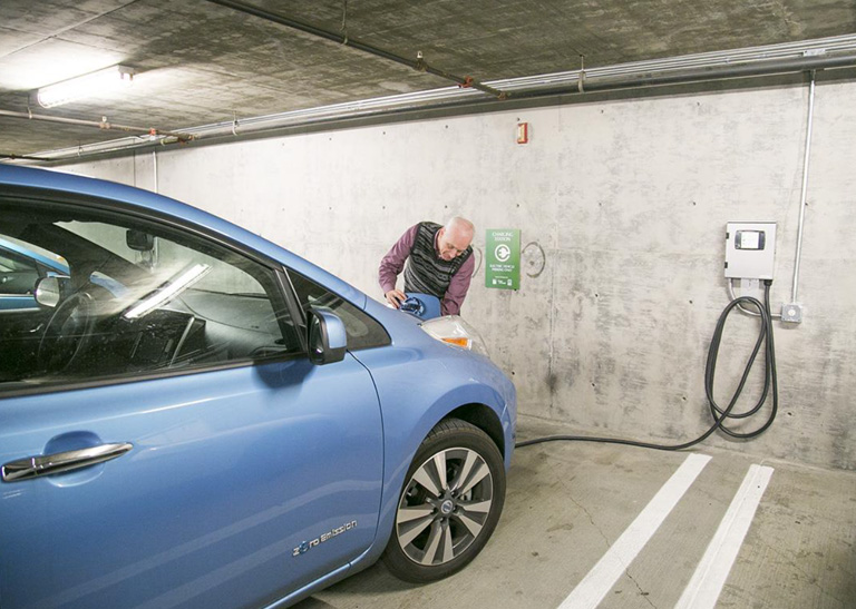 Getty Center and Getty Villa install Electric Vehicle Charging Stations