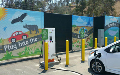 L.A. Zoo Partners with LADWP and Adopt a Charger, Inc. to Install Electric Vehicle Charging Stations