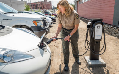 New Electric Vehicle Chargers Installed at Los Angeles Area State Parks
