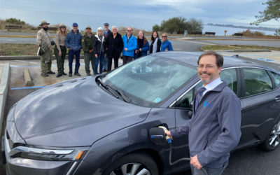Adopt a Charger Electrifies Seacliff State Beach